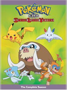 Pokemon The Series: Diamond And Pearl Sinnoh League Victors Complete Season
