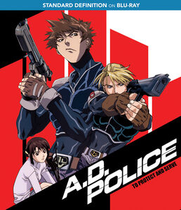 A.D. Police: To Protect And Serve