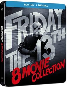 - Friday the 13th: 8-Movie Collection (Steelbook)