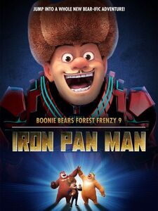 Boonie Bears Forest Frenzy 9 Iron Pan Man