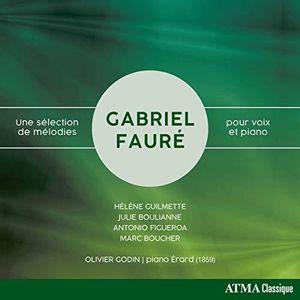 Une Selection de Melodies Pour Voix Et Piano