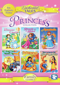 Princess Collection: Princess Castle, Beauty And The Beast, Anastasia,Tom Thumb Meets Thumbelina, Pocohontas, And The Legend Of Su-Ling