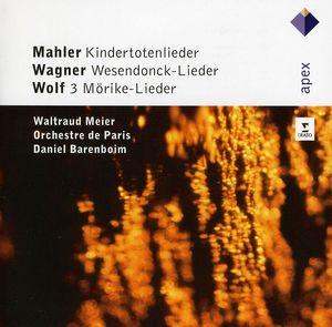 Kindertotenlieder /  Wesendonck-Lieder /  Lieder