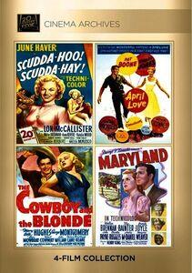 Scudda Hoo! Scudda Hay! /  April Love /  The Cowboy and the Blonde /  Maryland
