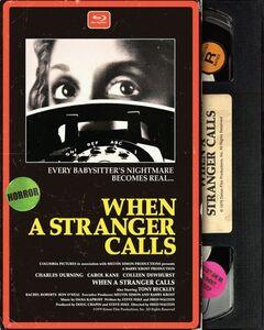When a Stranger Calls (Retro VHS Packaging)