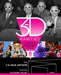 3-D Rarities Volume II - Deluxe Blu-ray Edition
