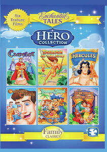 Hero Collection: Camelot, Tarzan, Hercules, Gulliver's Travels,Treasure Island, And Hunchback Of Notre Dame