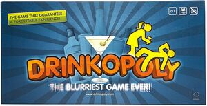 DRINKOPOLY THE BLURRIEST GAME EVER!