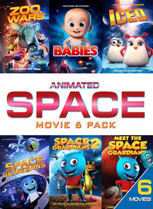 Animated Space (adventure Movie 6 Pack)