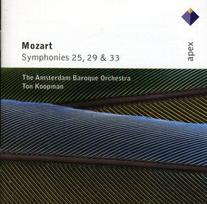 Mozart: Sym Nos 25 /  29 & 33