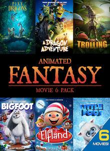 Animated Fantasy (movie 6 Pack)