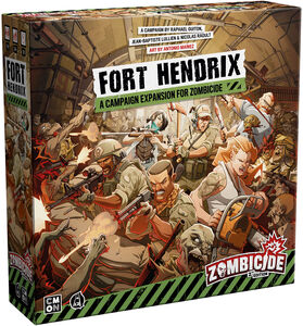 ZOMBICIDE 2ND ED FORT HENDRIX EXP FOR ZOMBICIDE