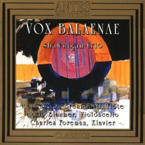 Vox Balaenae /  Piano Trios