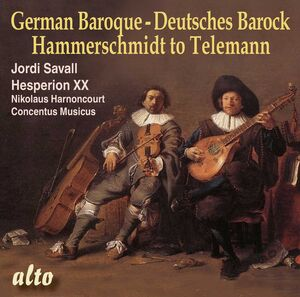 German Baroque: From Hammerschmidt to Telemann