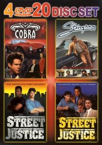 Cobra: The Complete Series /  Stingray: The Complete Series /  Street Justice: The First and Second Complete Seasons
