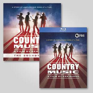 Ken Burns Country Music 2 LP /  8 Blu-ray Bundle