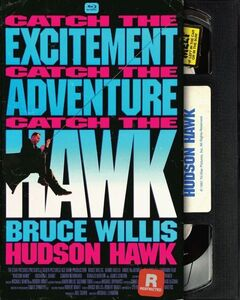 Hudson Hawk (Retro VHS Packaging)