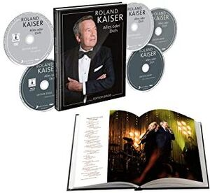 Alles Oder Dich [Limited Blu-Ray With 3 CD's & 1 DVD] [Import]