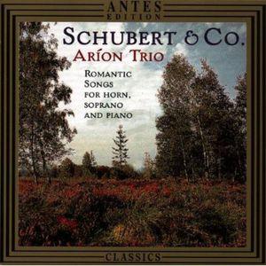Romantic Songs for Horn Soprano & Piano