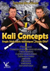 Kali Concepts: Single Olisi - Single Stick Basic Techniques