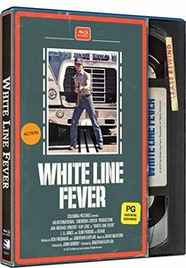 White Line Fever (Retro VHS Packaging)