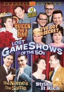 Lost Game Shows Of The 50s