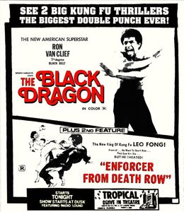 The Black Dragon /  Enforcer From Death Row