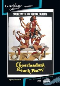 Cheerleaders Beach Party