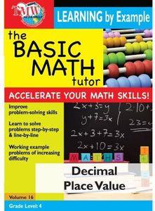Basic Math Tutor Decimal Place Value
