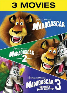 Madagascar/ Madagascar: Escape 2 Africa/ Madagascar 3: Europe's MostWanted