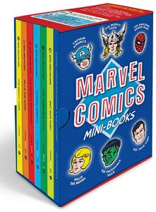 MARVEL COMICS MINI BOOKS COLLECTIBLE BOXED SET