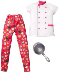 BARBIE CAREER CHEF FASHION PACK