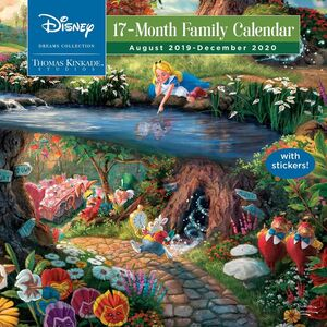 DISNEY DREAMS COLLECTION 2019 2020 17 MONTH FAMILY