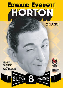 Edward Everett Horton: 8 Silent Comedies