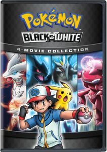 Pokemon Black And White 4-Movie Collection
