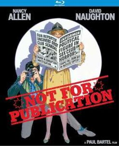 Not for Publication