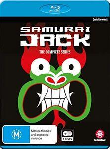 Samurai Jack: The Complete Seasons 1-5 [Import]