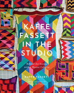 KAFFE FASSETT IN THE STUDIO