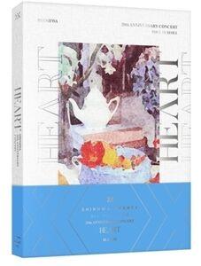 2018 Shinhwa 20th Anniversary Concert Heart (Incl. 36pg Photobook,Lenticular Card + 6 Clear Photocards) [Import]