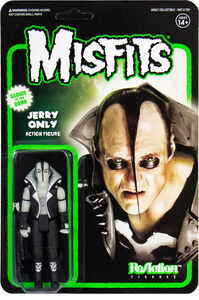 MISFITS REACTION - JERRY ONLY - GLOW IN THE DARK