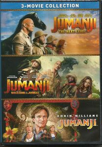 Jumanji: 3-Movie Collection: Jumanji /  Jumanji: Welcome to the Jungle / Jumanji: The Next Level