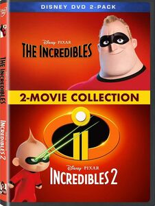 The Incredibles /  Incredibles 2: 2-Movie Collection
