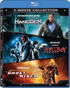 Ghost Rider (2007)/ Hancock/ Hellboy (2004)
