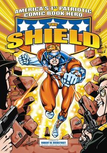 AMERICAS 1ST PATRIOTIC COMIC BOOK HERO THE SHIELD
