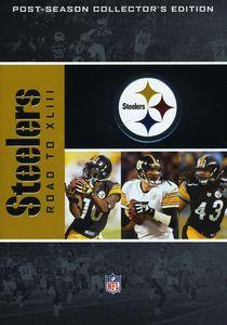 NFL Road To Super Bowl XLIII: Pittsburgh Steelers [4 Discs] [Full Frame]