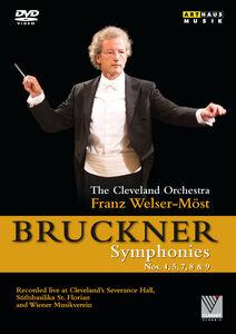 Anton Bruckner: Symphonies Nos 4 5 7 8 & 9