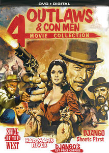 Outlaws & Con Men: 4 Movie Collection