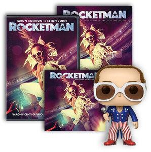 Rocketman Ultimate Fan Pack DVD/ CD Bundle