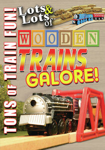 Lots And Lots Of Wooden Trains Galore