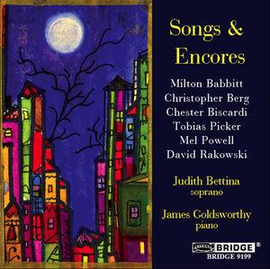 Songs & Encores a Recital of American Song